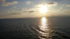 Taken while on ship from my balcony